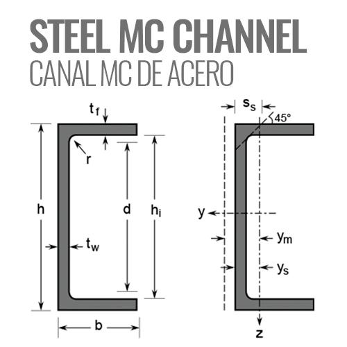 """3/"""" STEEL CHANNEL C3 X 4.1 LB  26-1//2/"""" LONG 3 X 4.1 A-36 STEEL CHANNEL"""